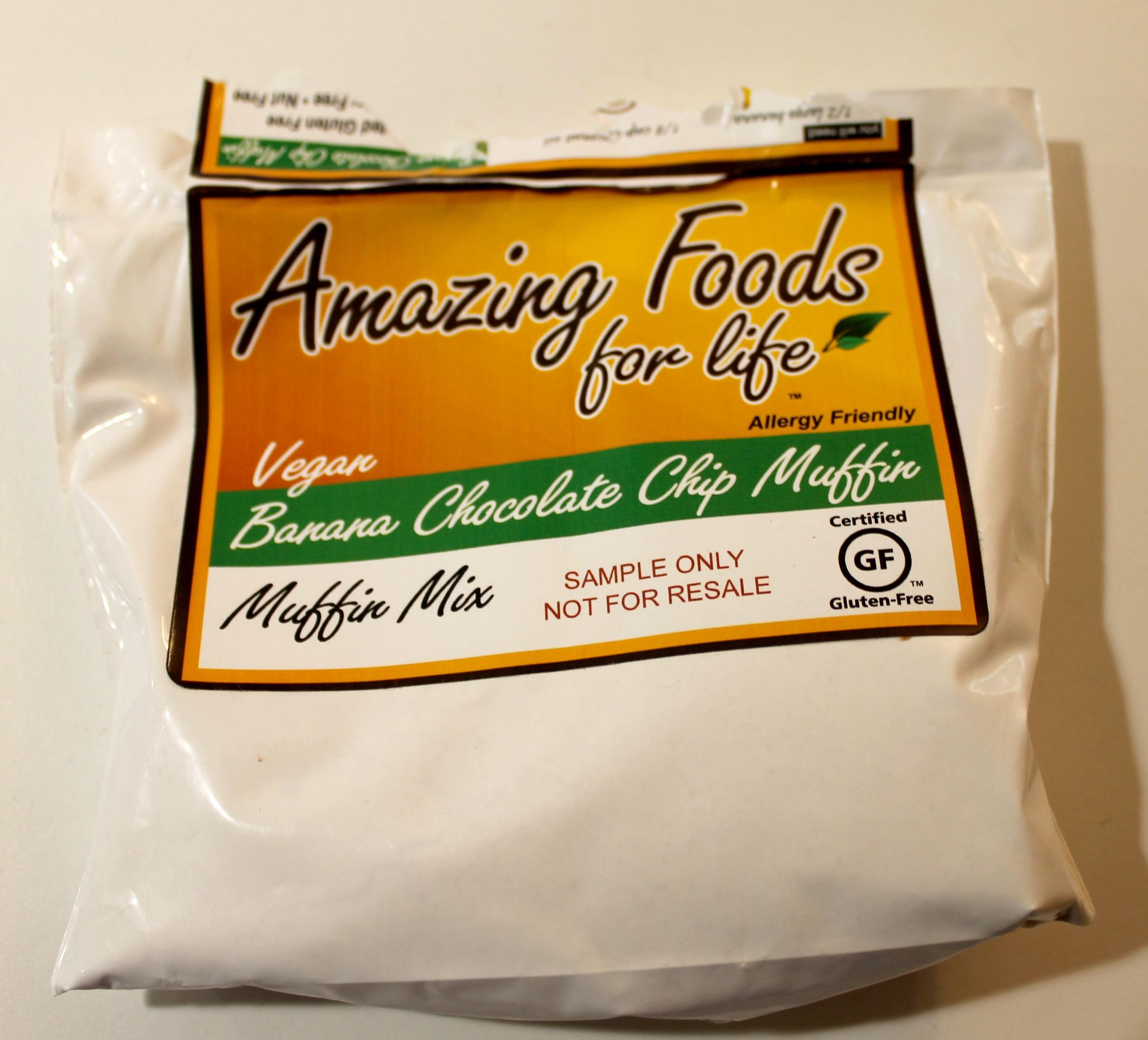Send Me Gluten Free Banana Muffin Mix