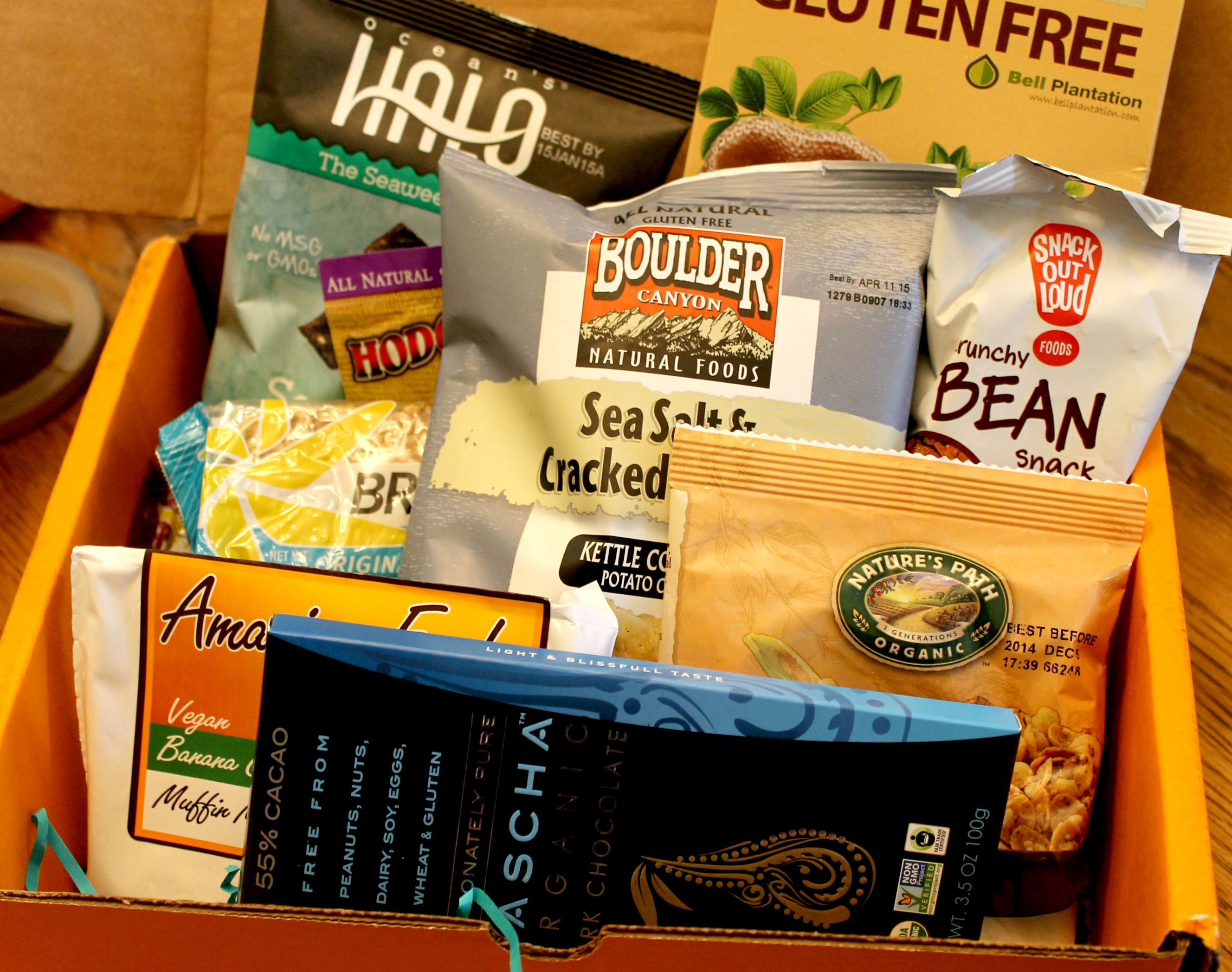Send Me Gluten Free Box