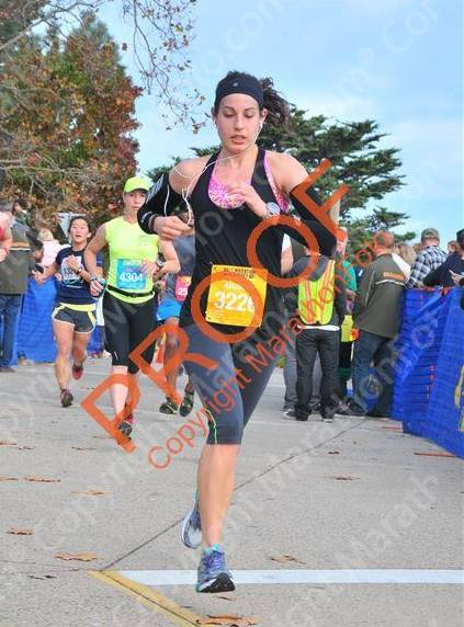 big sur half marathon on monterey bay pic 2