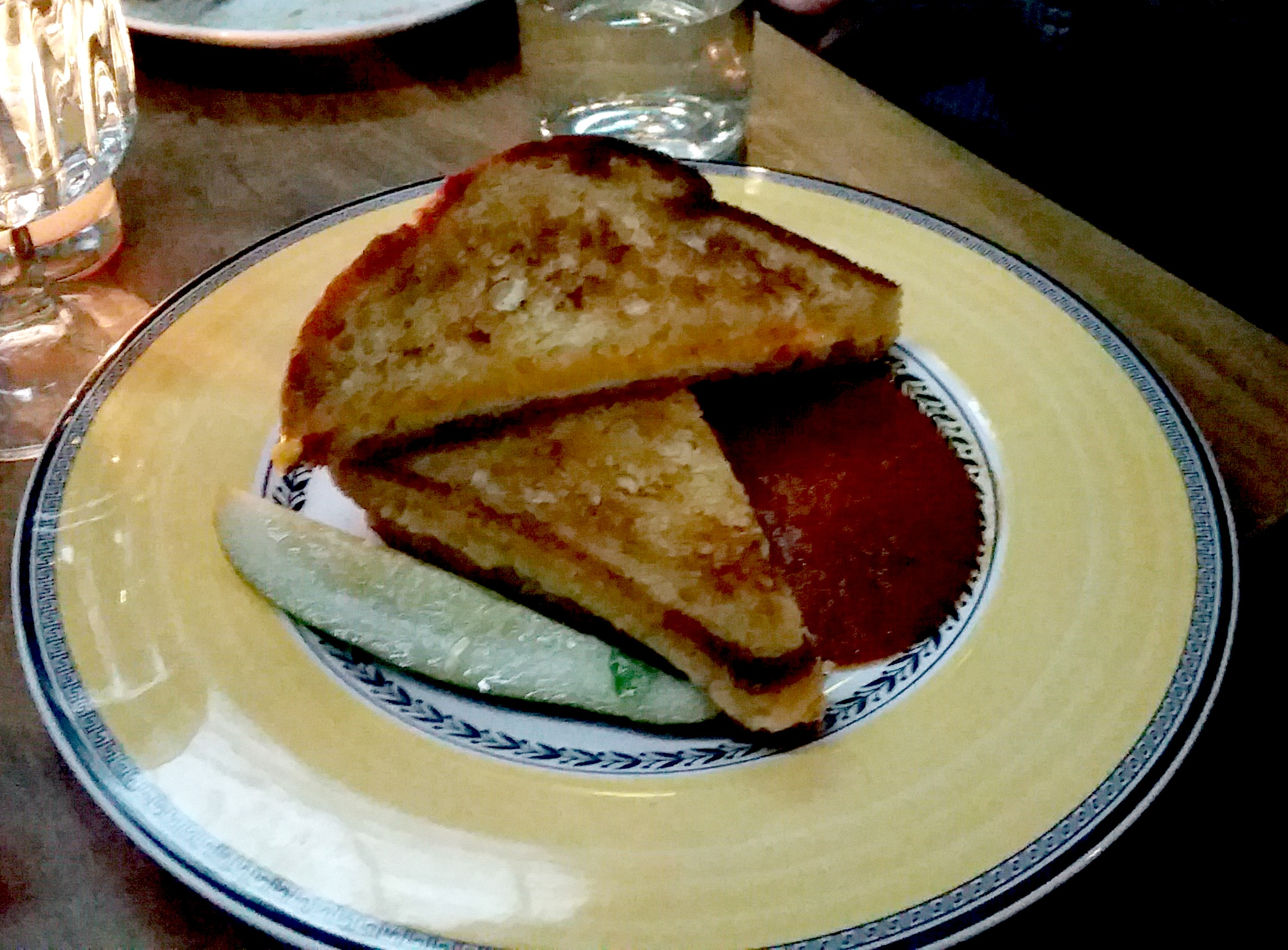 commissary at the line hotel grilled cheese