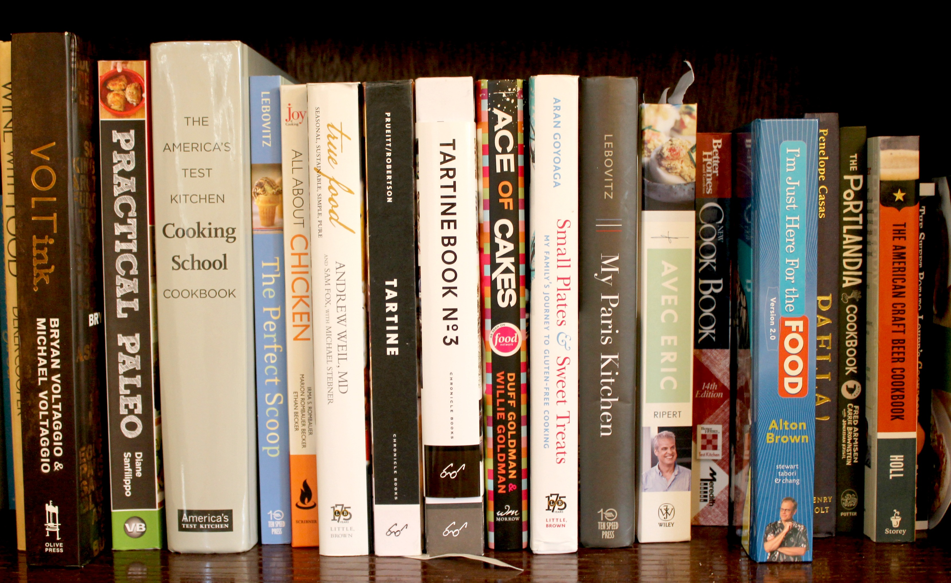 cookbook lineup