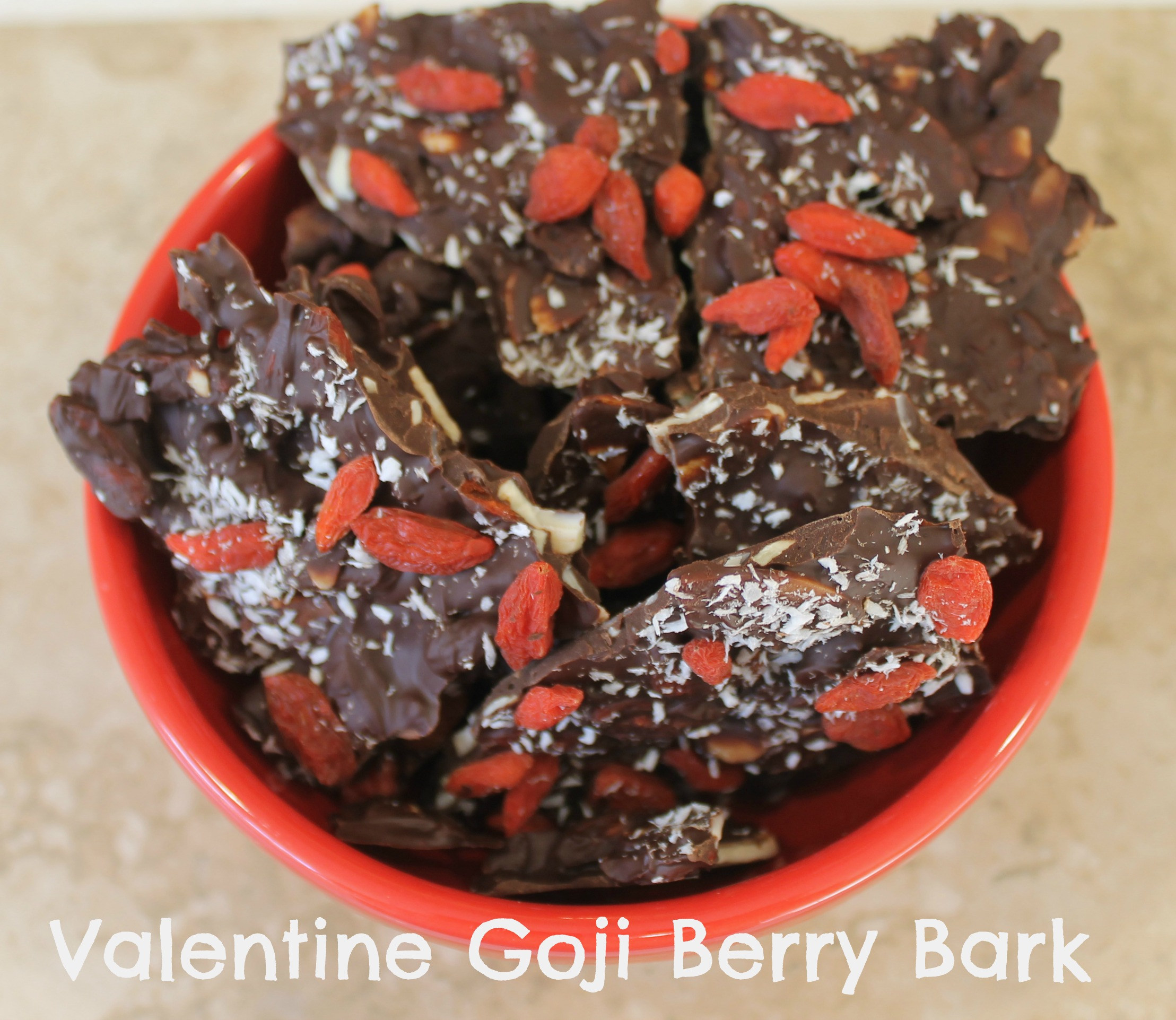 valentine goji berry bark pin