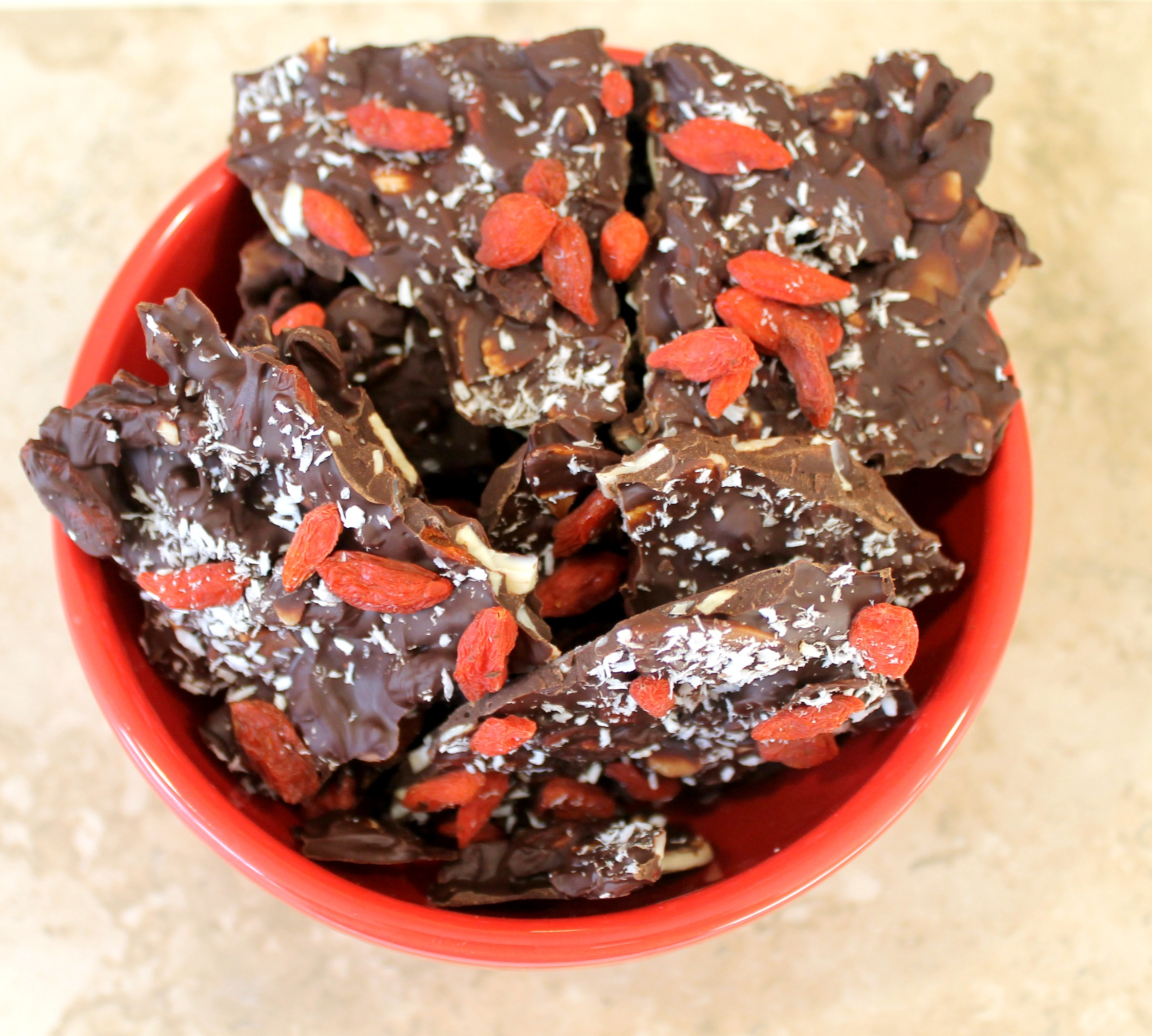 valentine goji berry bark