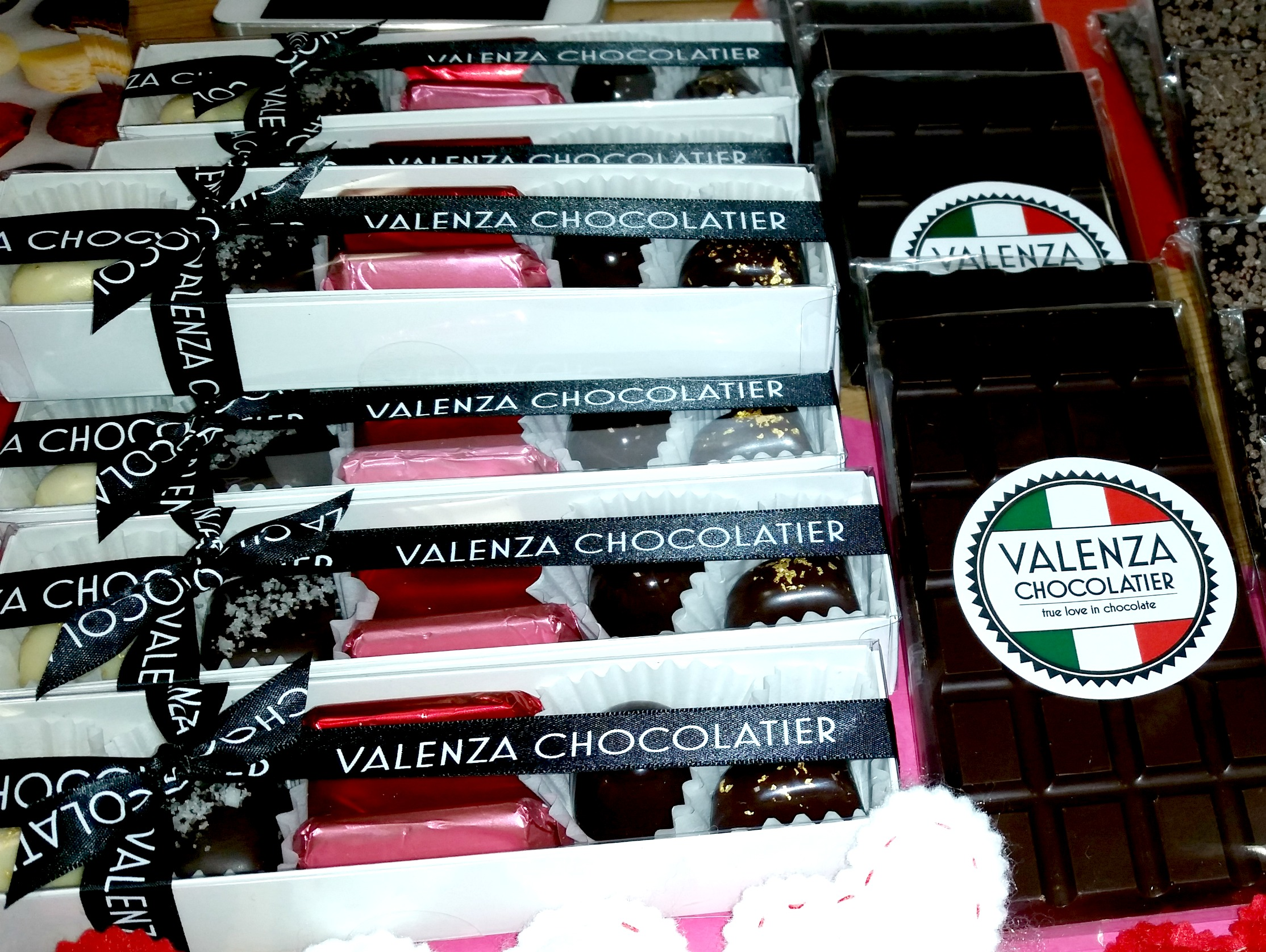 valenza chocolate bars variety