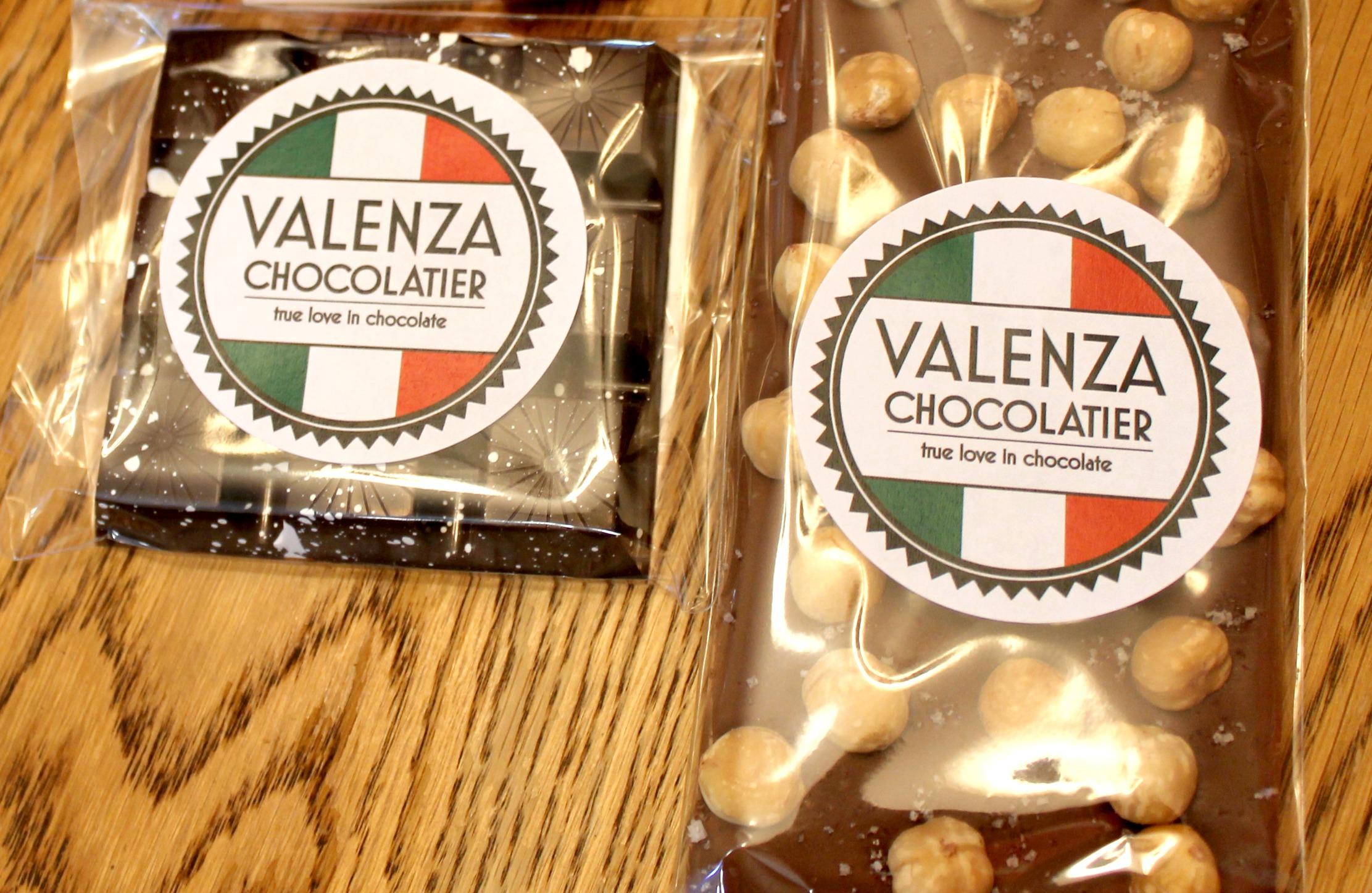 valenza chocolatier flavors