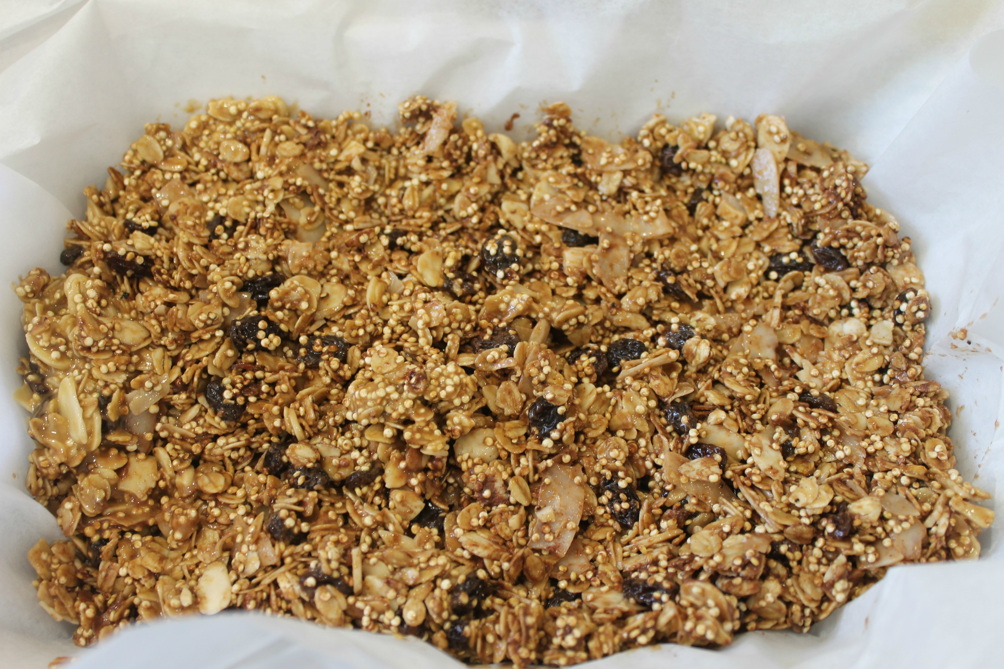 gluten free breakfast bar pan