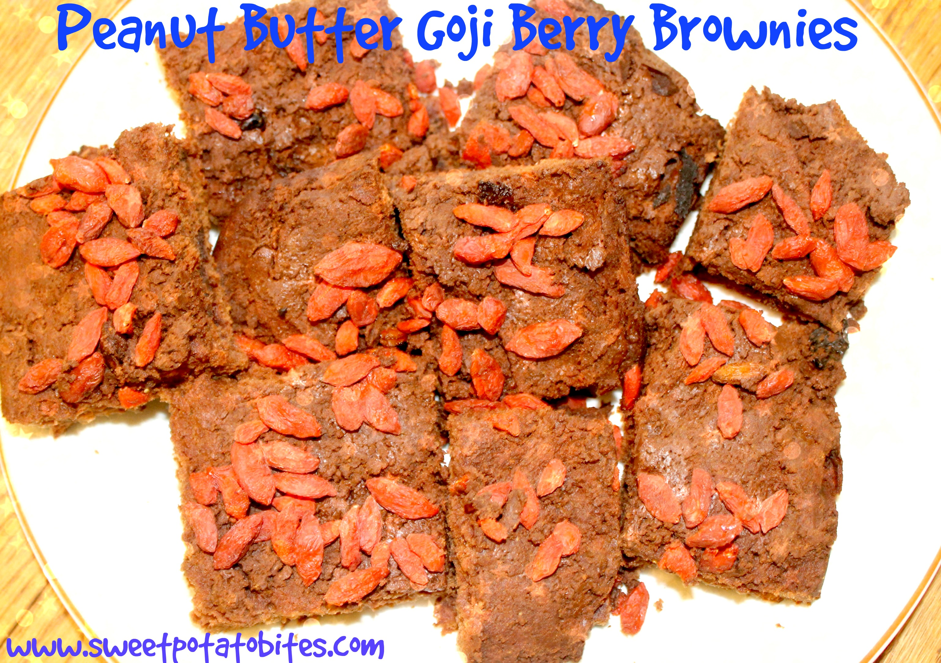 goji berry brownies PIN