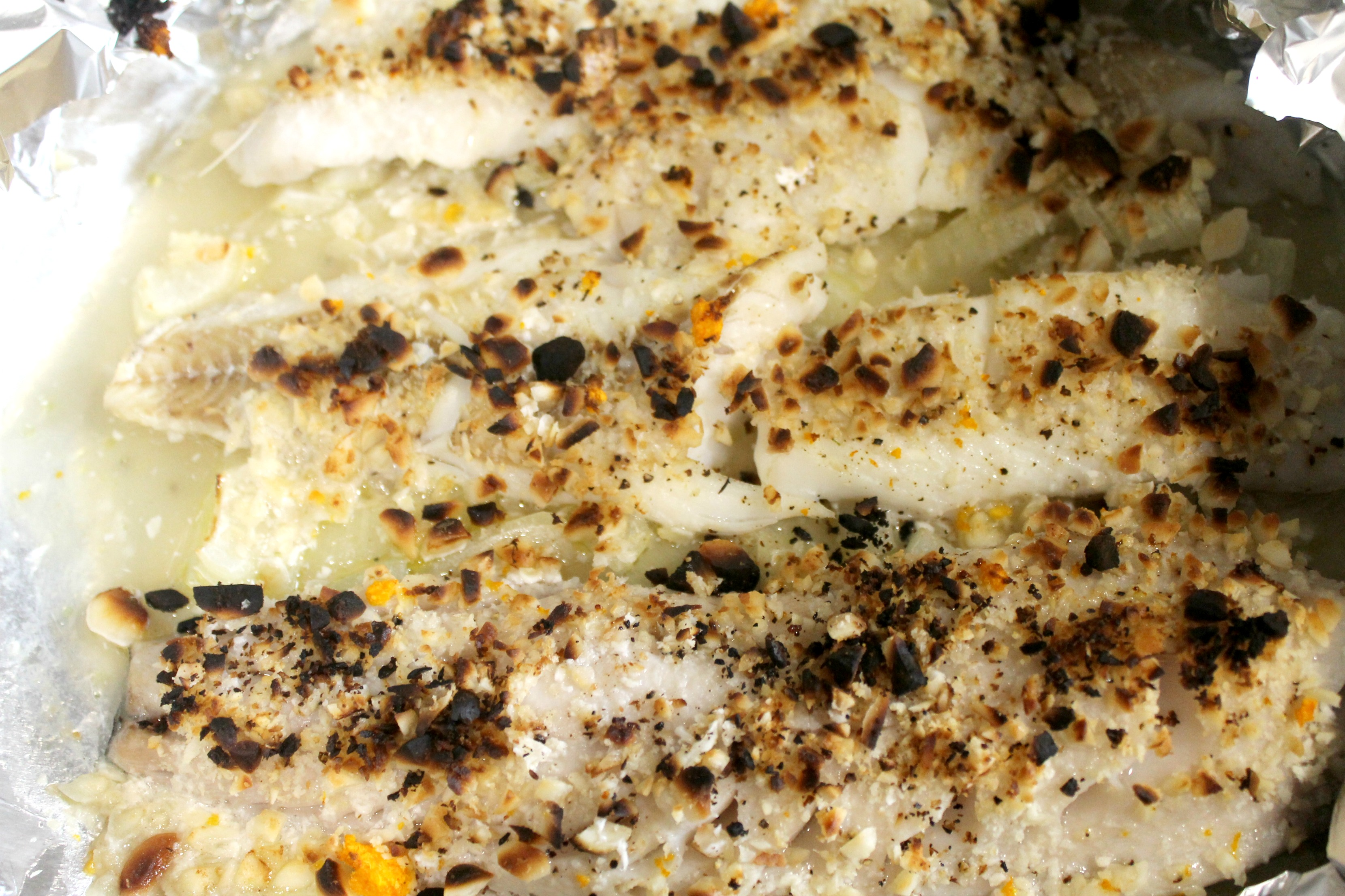 macadamia nut crusted cod