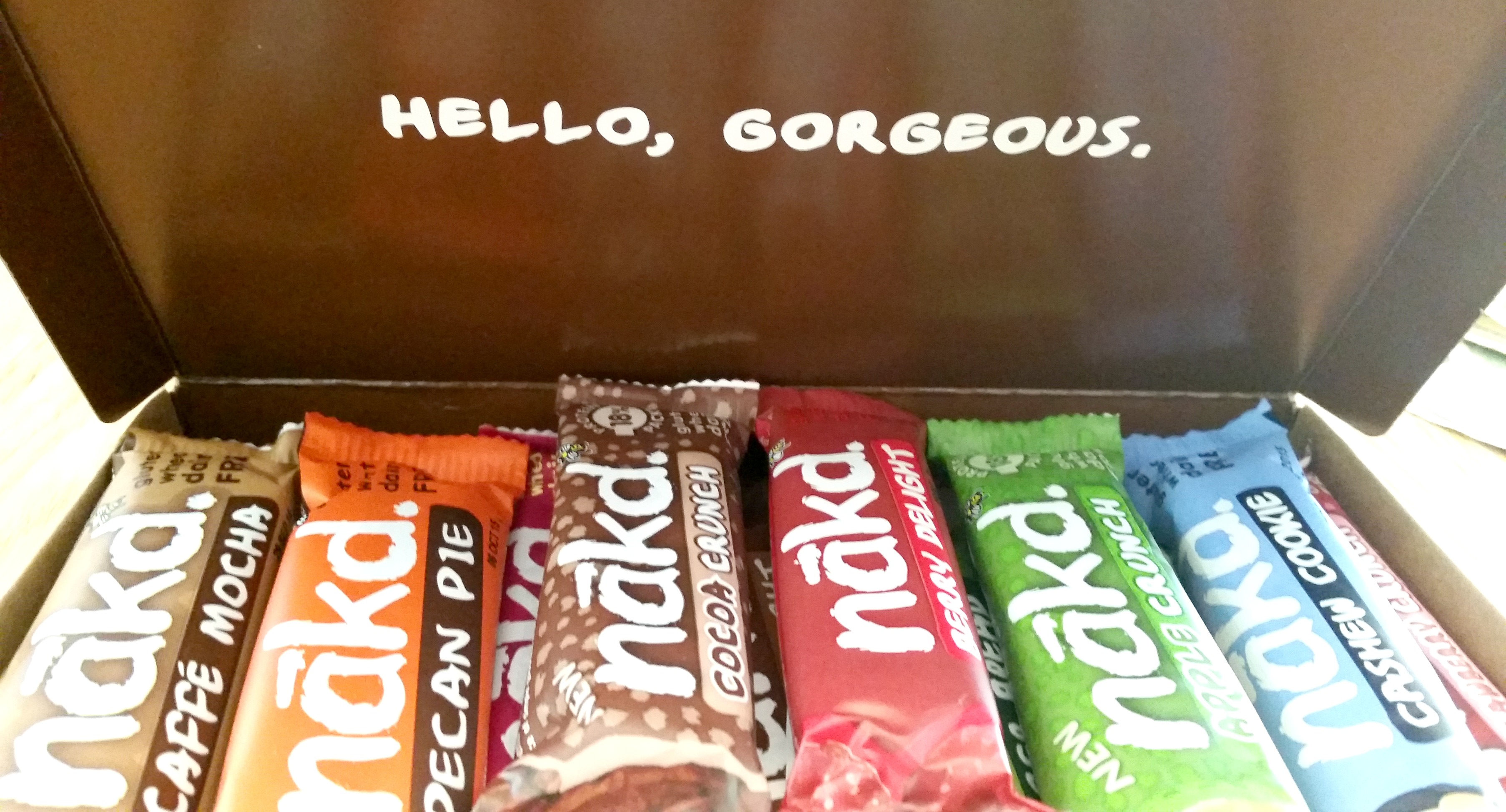 Nakd bars Packaging