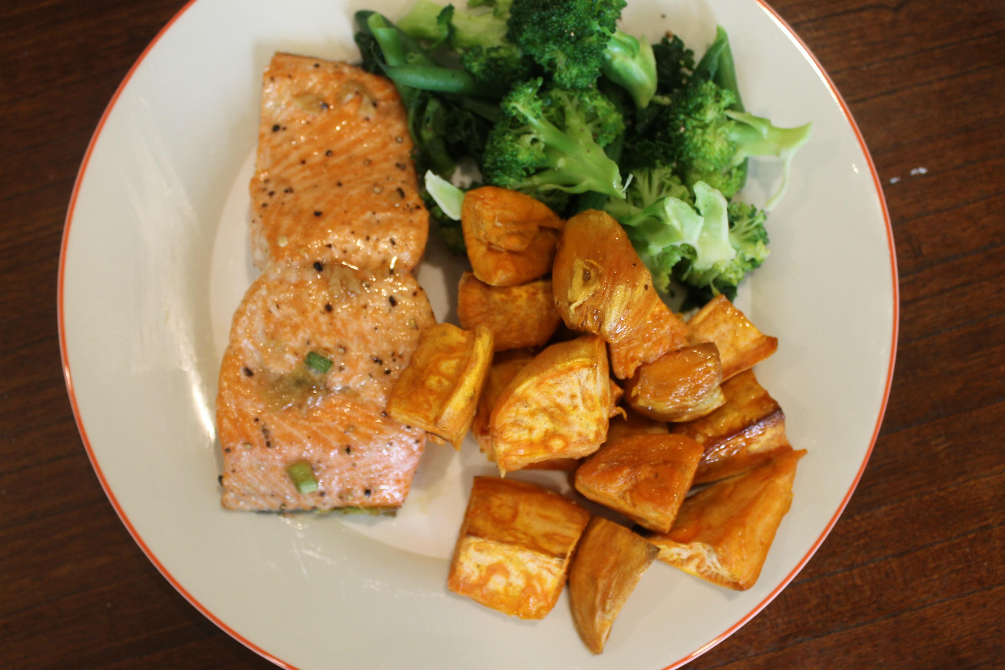 Sake Ginger Glazed Salmon Recipe — Dishmaps
