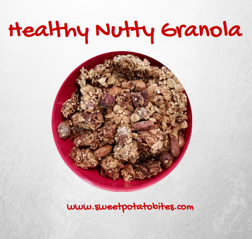 Sweet Potato Bites Healthy Nutty Granola